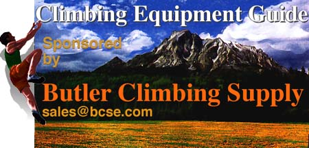 [Butler Climbing Equipment Guide Logo]